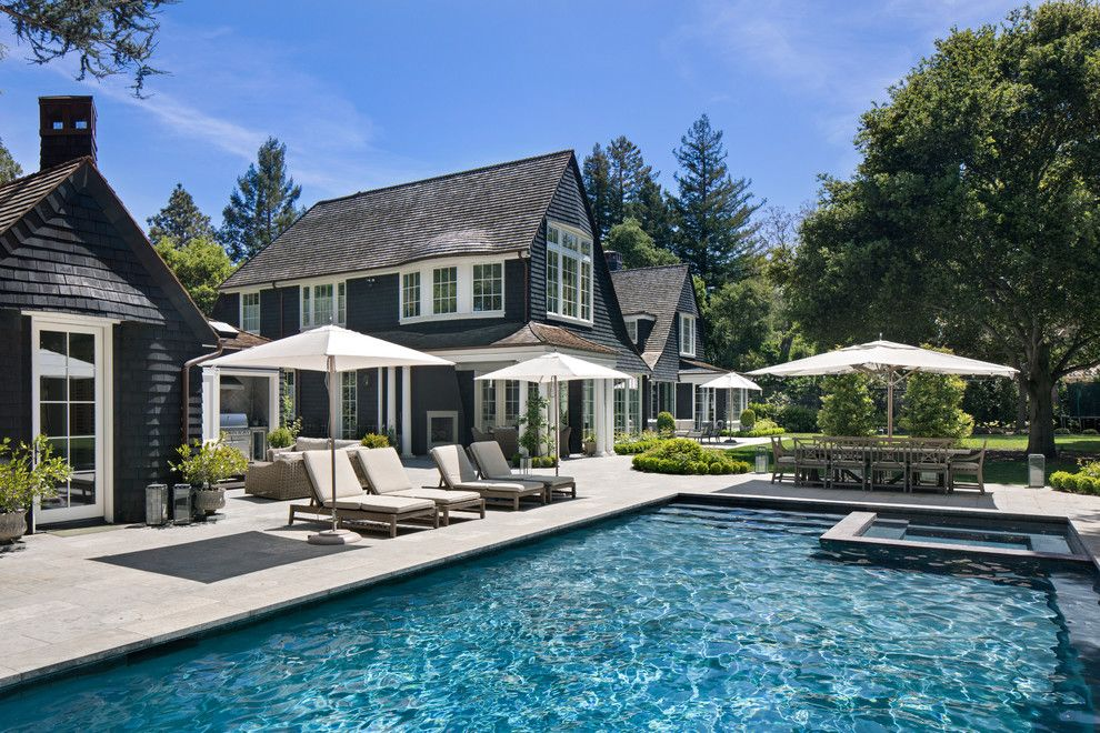 20 Sensational Traditional Swimming Pool Designs That Simply