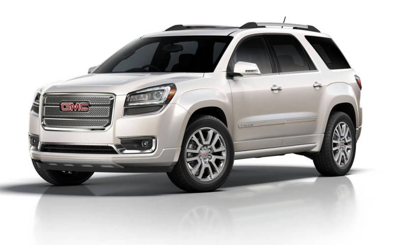 New 2016 Gmc Acadia Denali Release Date Price Review Changes