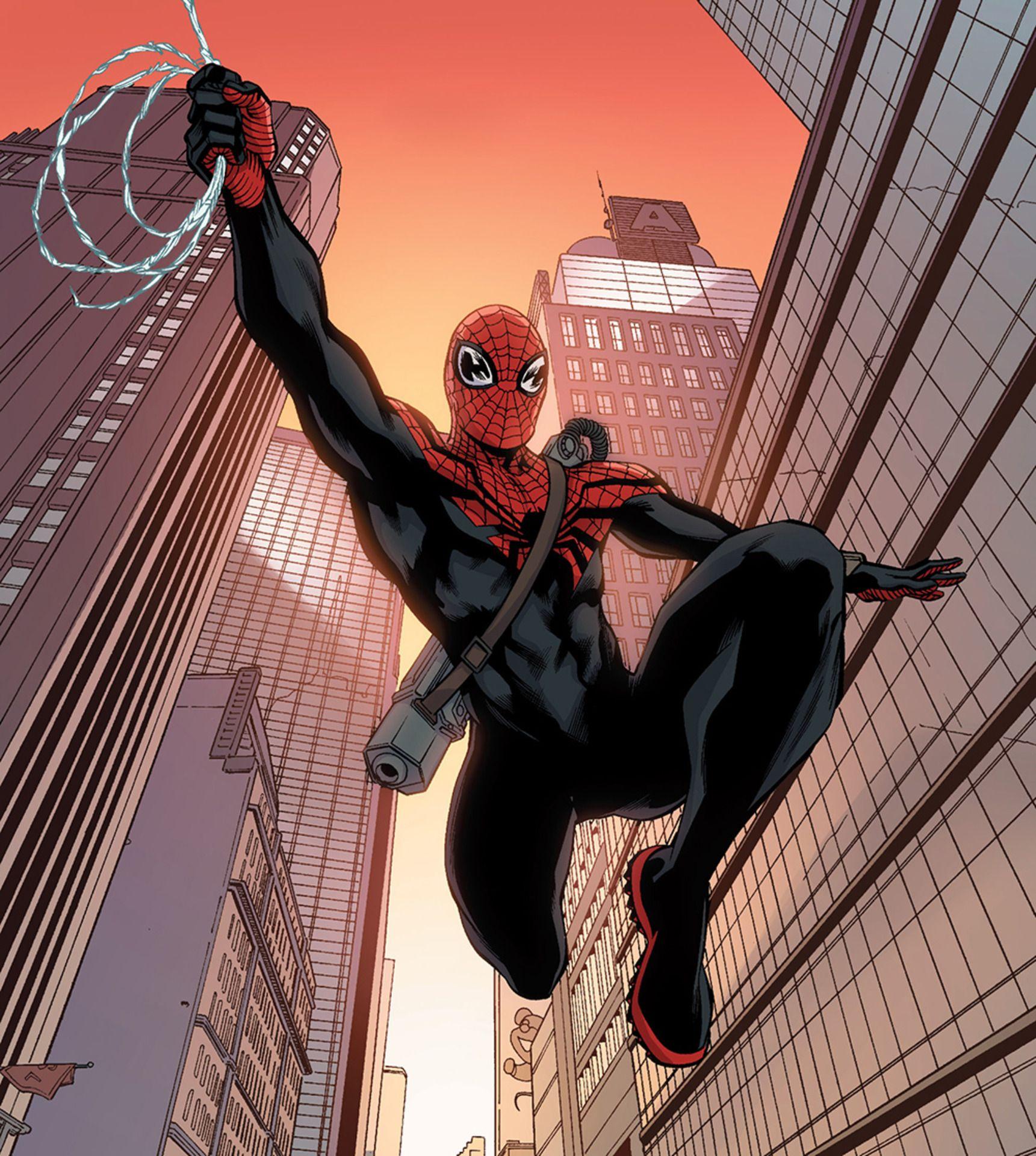 Картинки совершенного человека паука