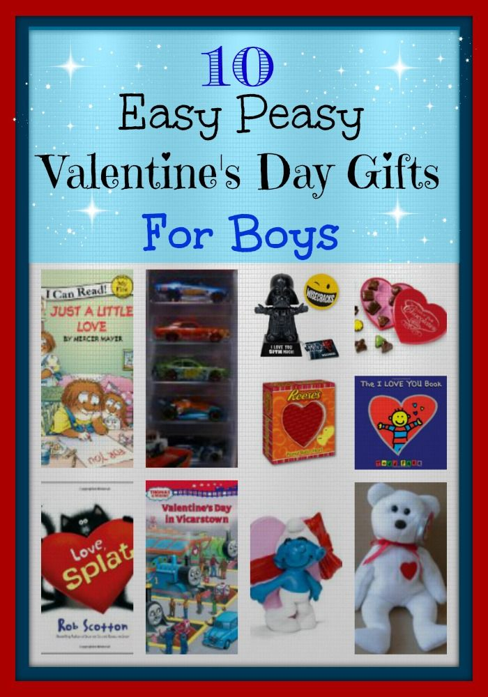 10 Easy Peasy Valentine S Day Gifts For Boys Gifts For