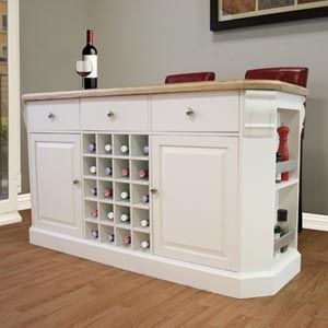 aspen kitchen island from costco - would make a nice basement bar