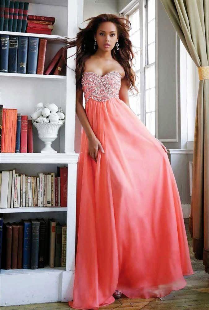 Exclusivos vestidos largos de fiesta - Moda en vestidos elegantes ...