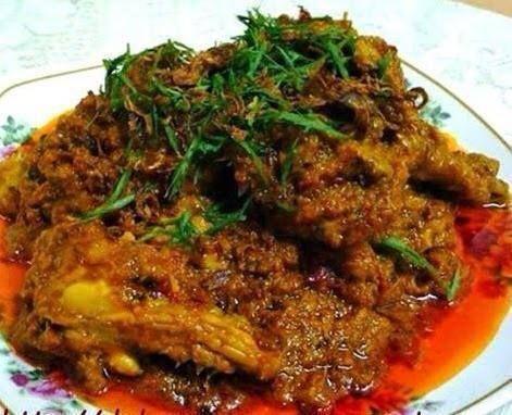 Rendang Ayam Opah Resepi Mudah Dan Ringkas Resep Resep Masakan Pedas Resep Masakan Malaysia Resep Makanan India