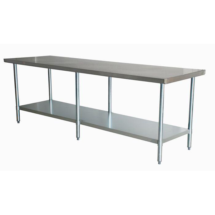 Atlantic Metalworks stainless steel work table # ...