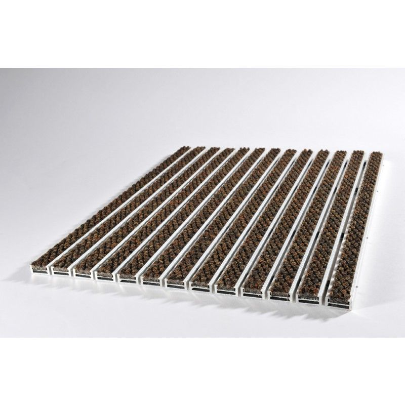 Felpudo 17r Estructura De 20 Mm 60 Cm X 40 Cm Eingang Fussmatte Aluminium