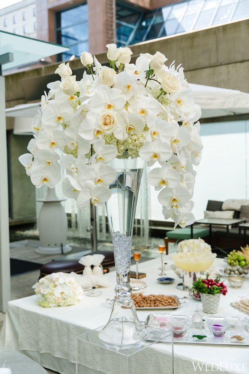 Phalaenopsis orchid tall centerpiece | Centerpieces | Pinterest ...