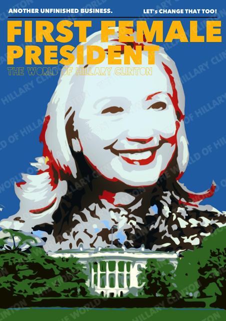 Hillary Clinton First Female President Of The United States