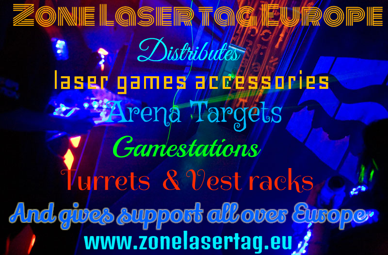 Laser Tag Accessories Turrets Consoles Vests Racks Gamestations From Zone Laser Tag Europe Laser Tag Laser Tags