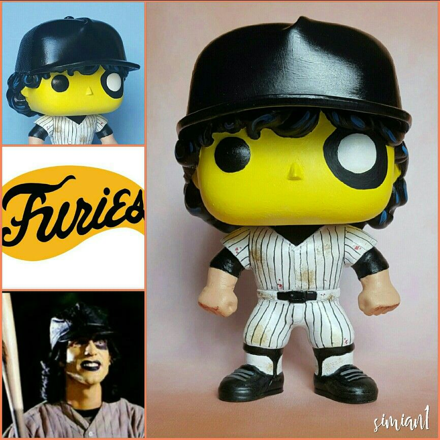 Furies Gang Leader Custom Pop Vinyl Figure With Reference Images This One Of A Kind Figure Began Over 2 Years Ago Finally Completed Last Week Just In Time