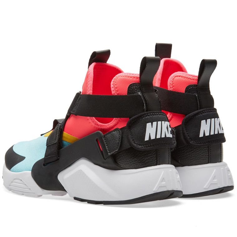 the best attitude fc6e5 2c5bb Nike Air Huarache City W Aqua, Black, Pink   White 2