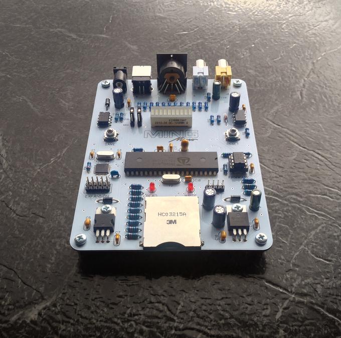 Ming Micro Portable 8bit Video Synthesizer Raspberry