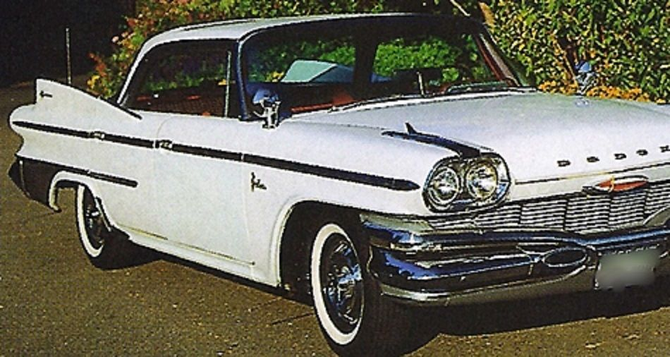 1960 Dodge Polara, White 4Dr. H.T. | Classic Chrysler, Plymouth ...