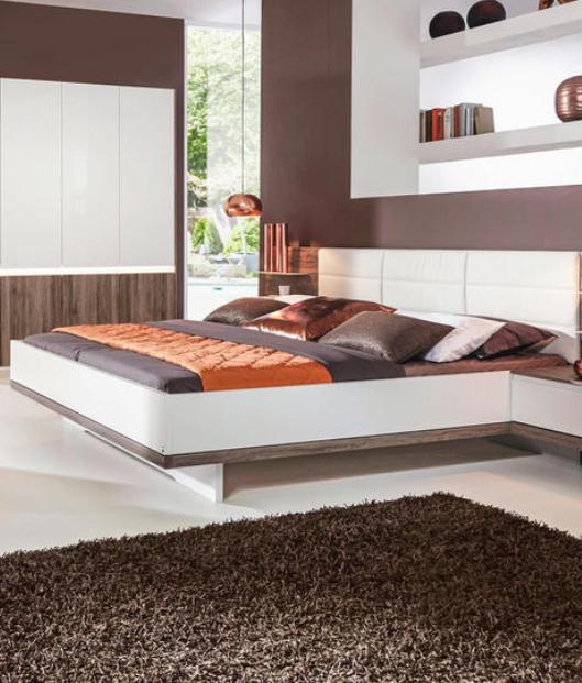Schlafzimmer In Weiss Eichefarben Schlafzimmer Schlafzimmer Set