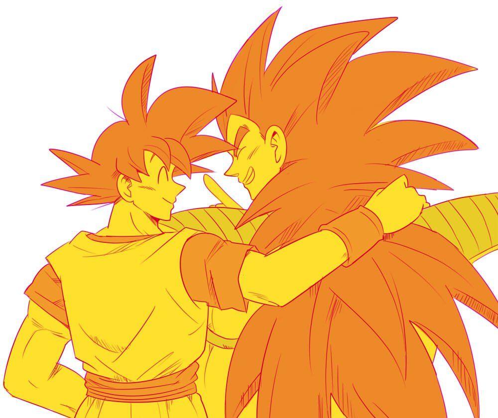 Goku And Raditz Dragon Ball Goku Anime Dragon Ball Dragon Ball Art
