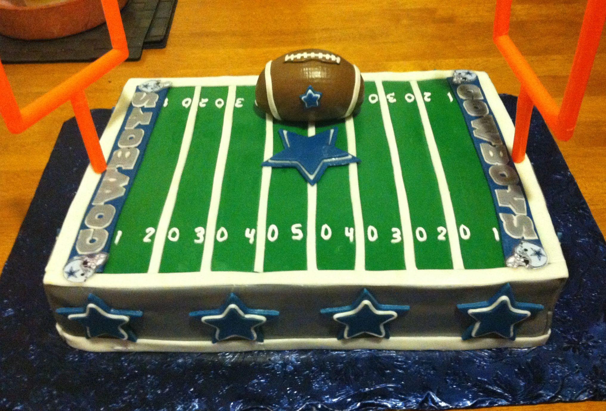 Dallas Cowboys Cake Hubbyu0027s Birthday Cake 2012