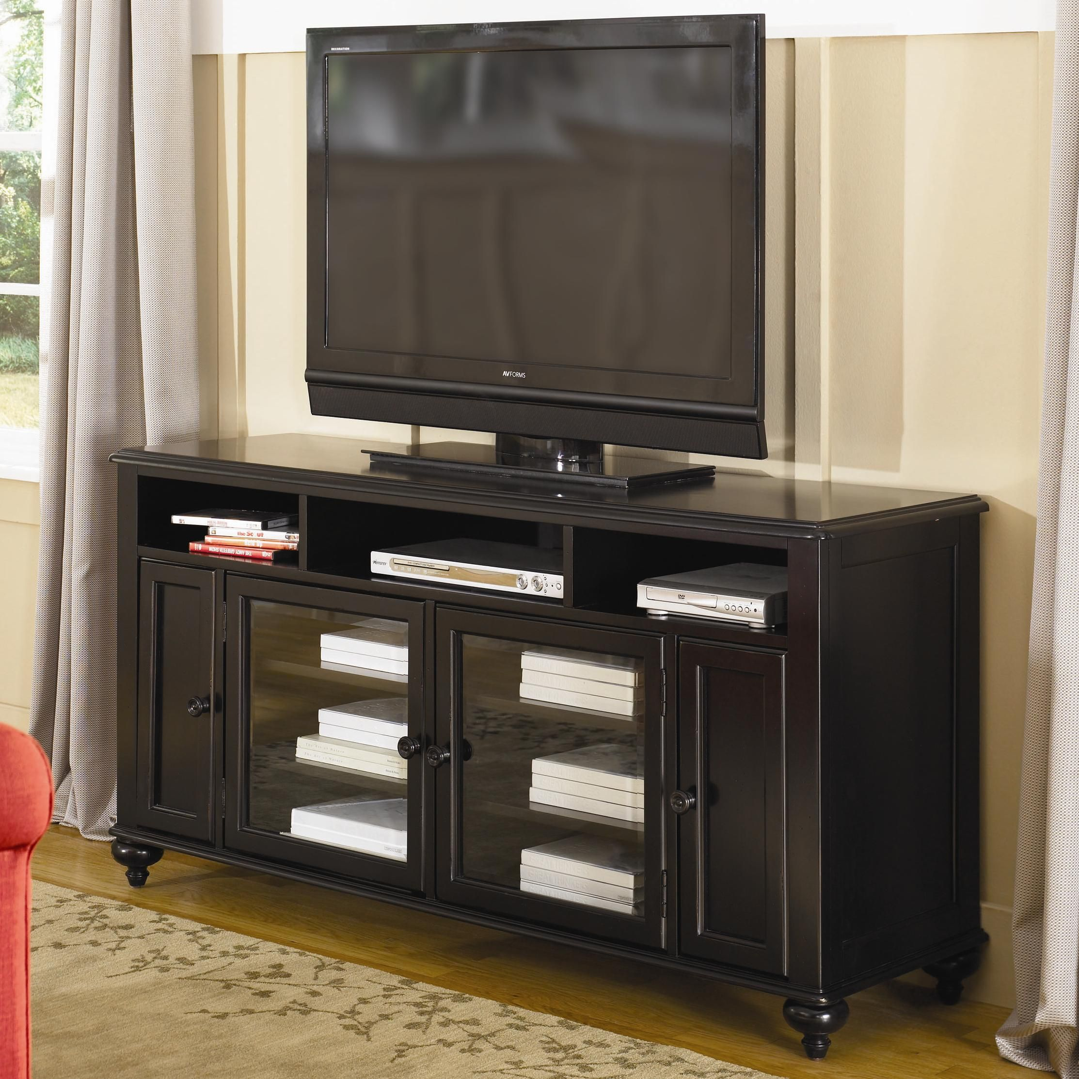 Mercer Four Door Entertainment Console by Hammary Stoney
