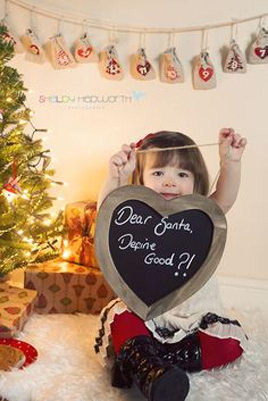 Dear Santa greetings card picture