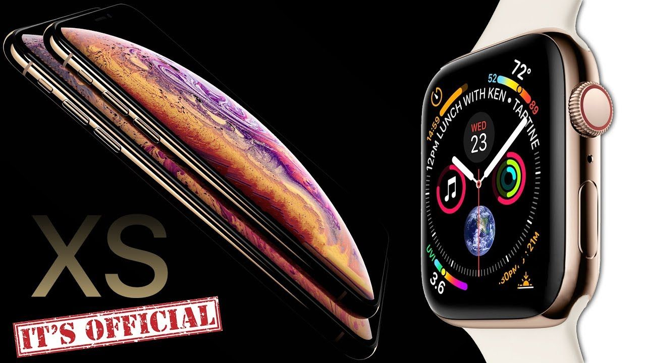 iPhone XS & Apple Watch 4 OFFICIAL LEAK BY APPLE