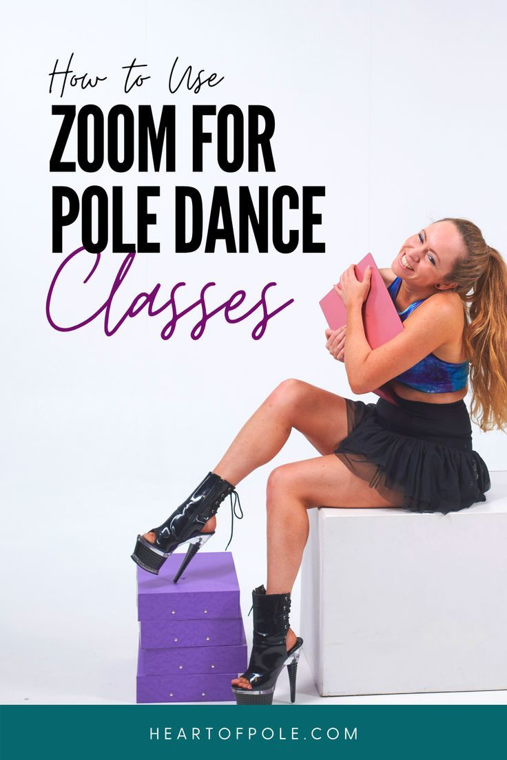 How to teach pole dance online using a zoom meeting
