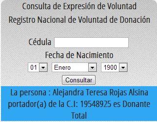 Soy donante de organos!  http://app.mpps.gob.ve/sinidot/pantallas/index.php