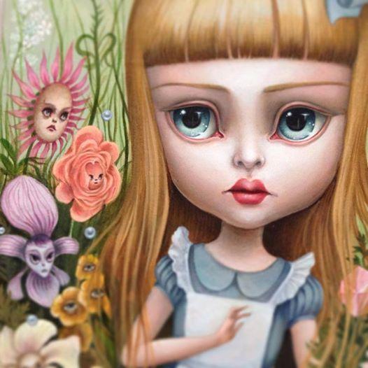 Sneak peek of Mab Graves - Her Waifs and Strays new Alice series.....Looks divine!!!