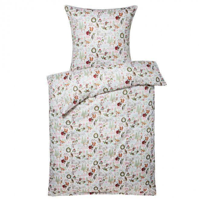Bettwasche Garnitur Woodland Bettwasche Feinbiber Bettwasche