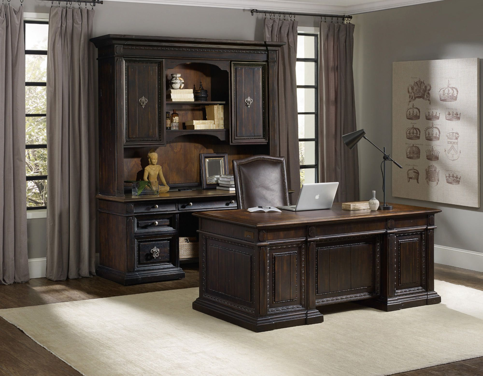 furniture notify set excelsior stores me home michael desk office by amini aico gallery executive