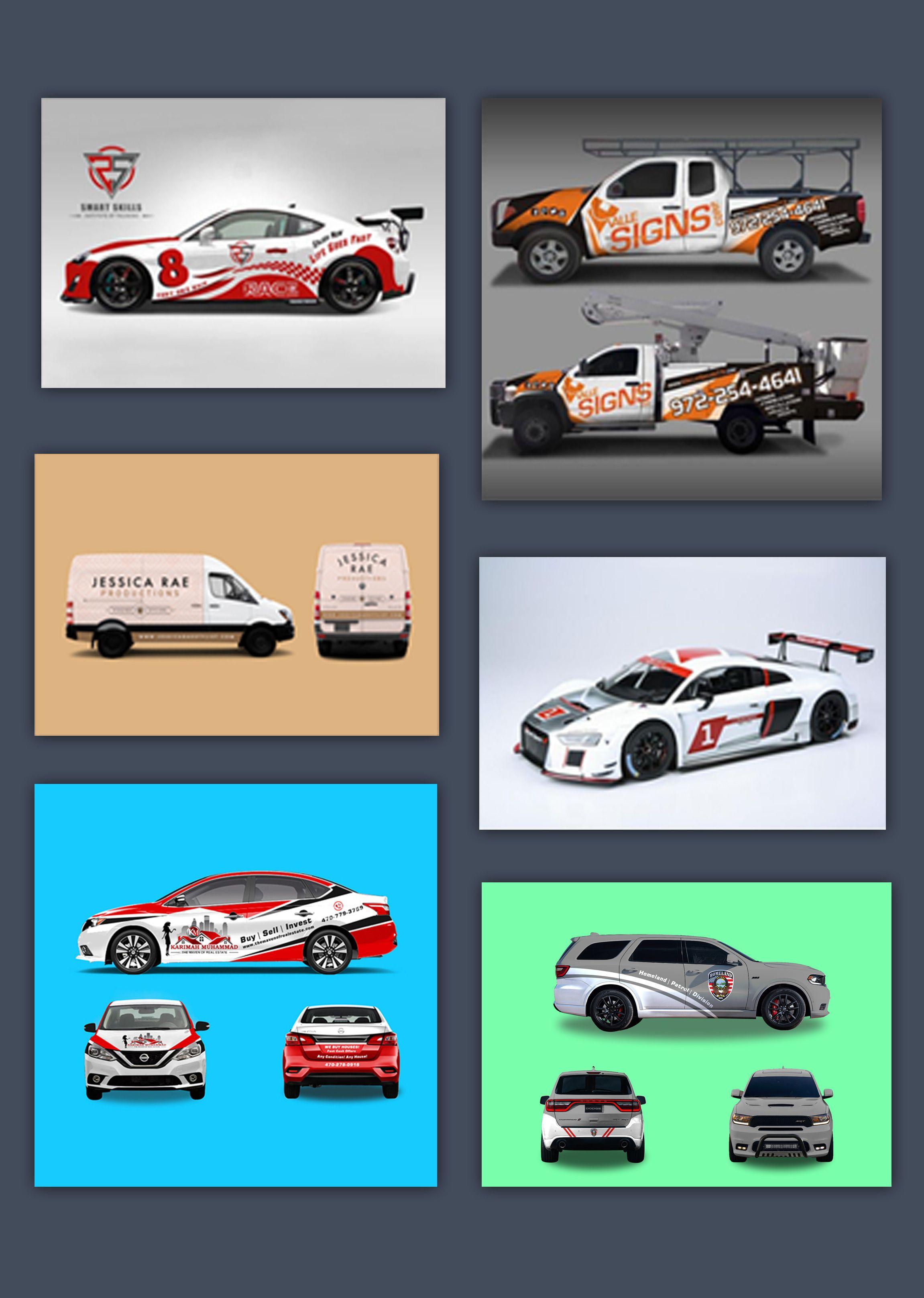 Graphic Design Services Hire A Graphic Designer Today Fiverr In 2020 Car Wrap Design Car Wrap Vehicles