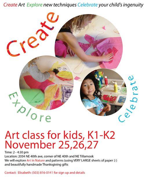 Art Classes Drawing Class Poster