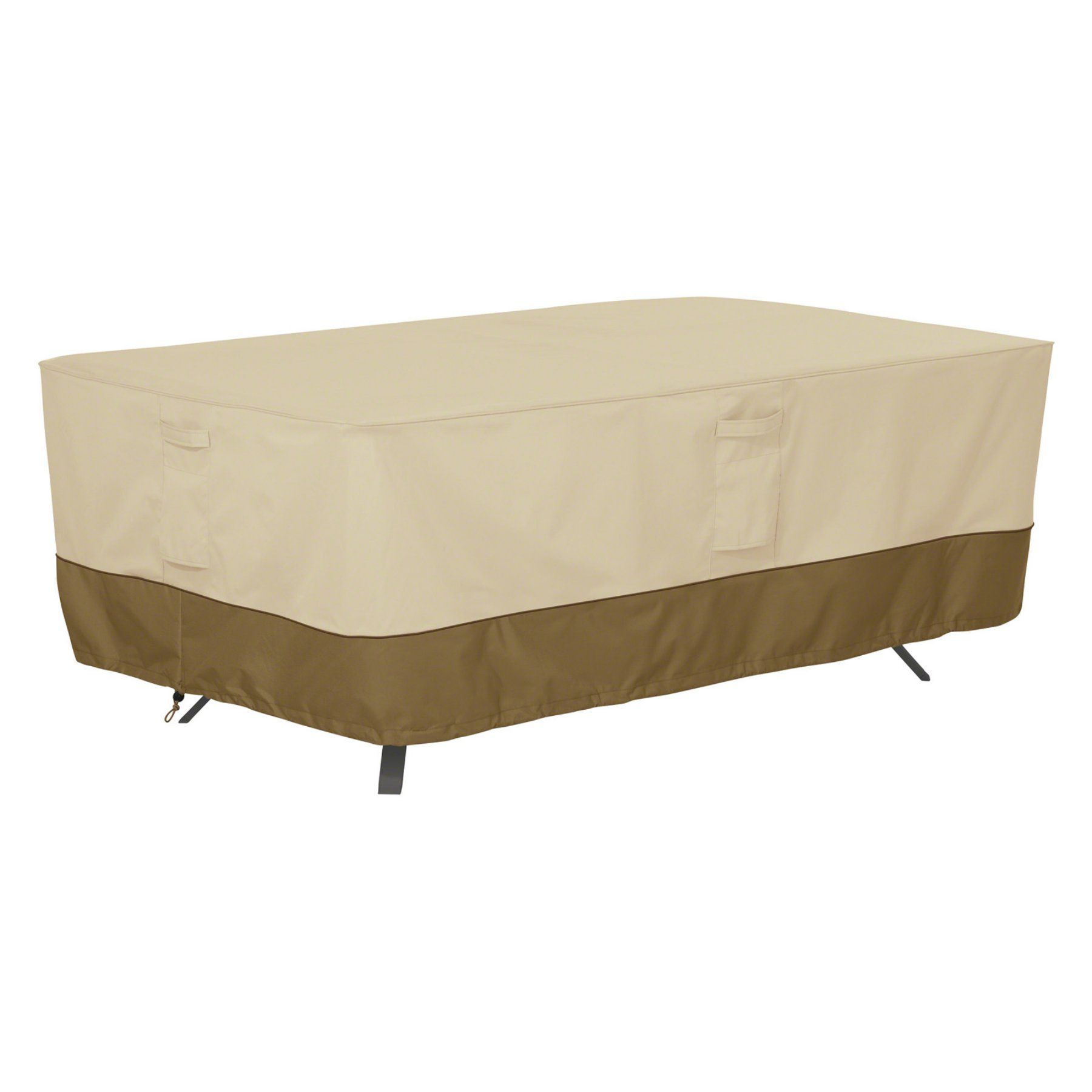 Classic Accessories Veranda Rectangle Oval Patio Table Cover 55 564 011501 00 Patio Furniture Covers Outdoor Furniture Covers Patio Table