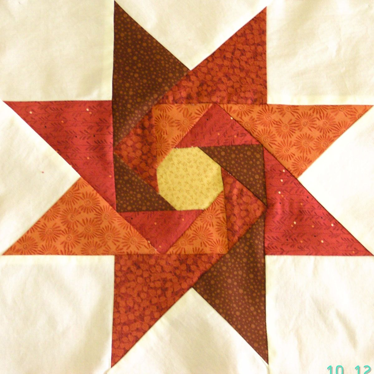 Love This Block Star Of The Orient Judy Martin Pattern