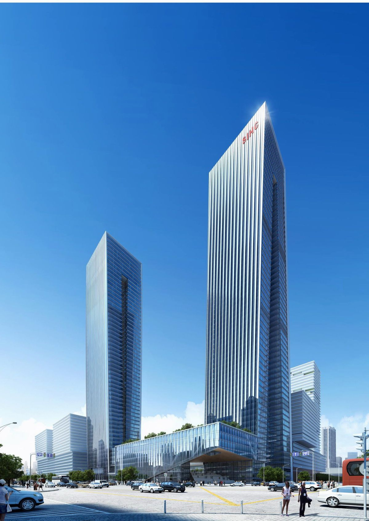SHENZEN l Bay Ecocity B-Tech Towers