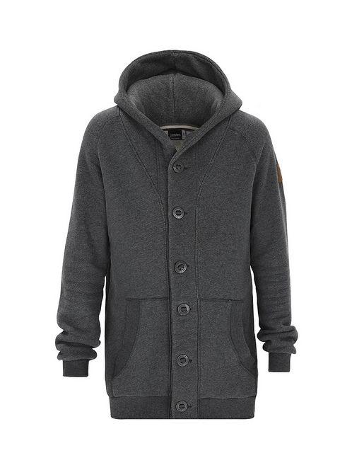 DAZED | Men's Zip Hoodie | Fall / Winter Collection 2012 / 2013 | www.zimtstern.com | #zimtstern #fall #winter #collection #mens #zip #zipper #hoodie #hood #sweatshirt #street #wear #streetwear #clothing #apparel #fabric #textile #snow #skate