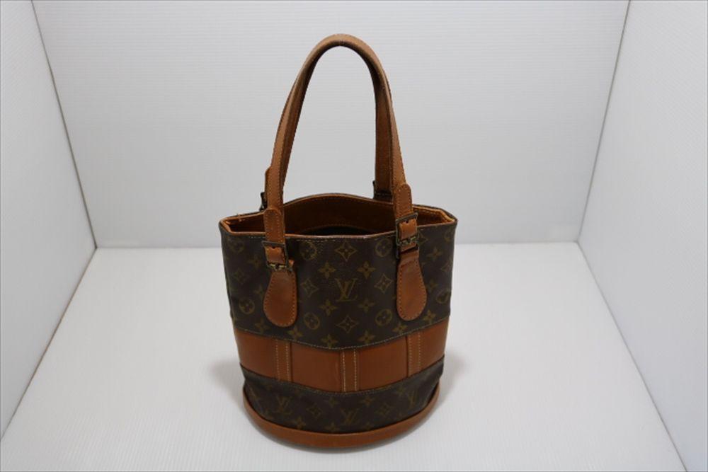 Louis Vuitton Monogram Usa Limited Bucket Gm Hand Bag Rare