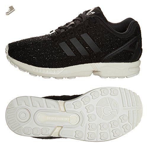 half off 8edb5 1bfe7 Adidas Originals W ZX Flux Tweed S77309 Core Black/White ...