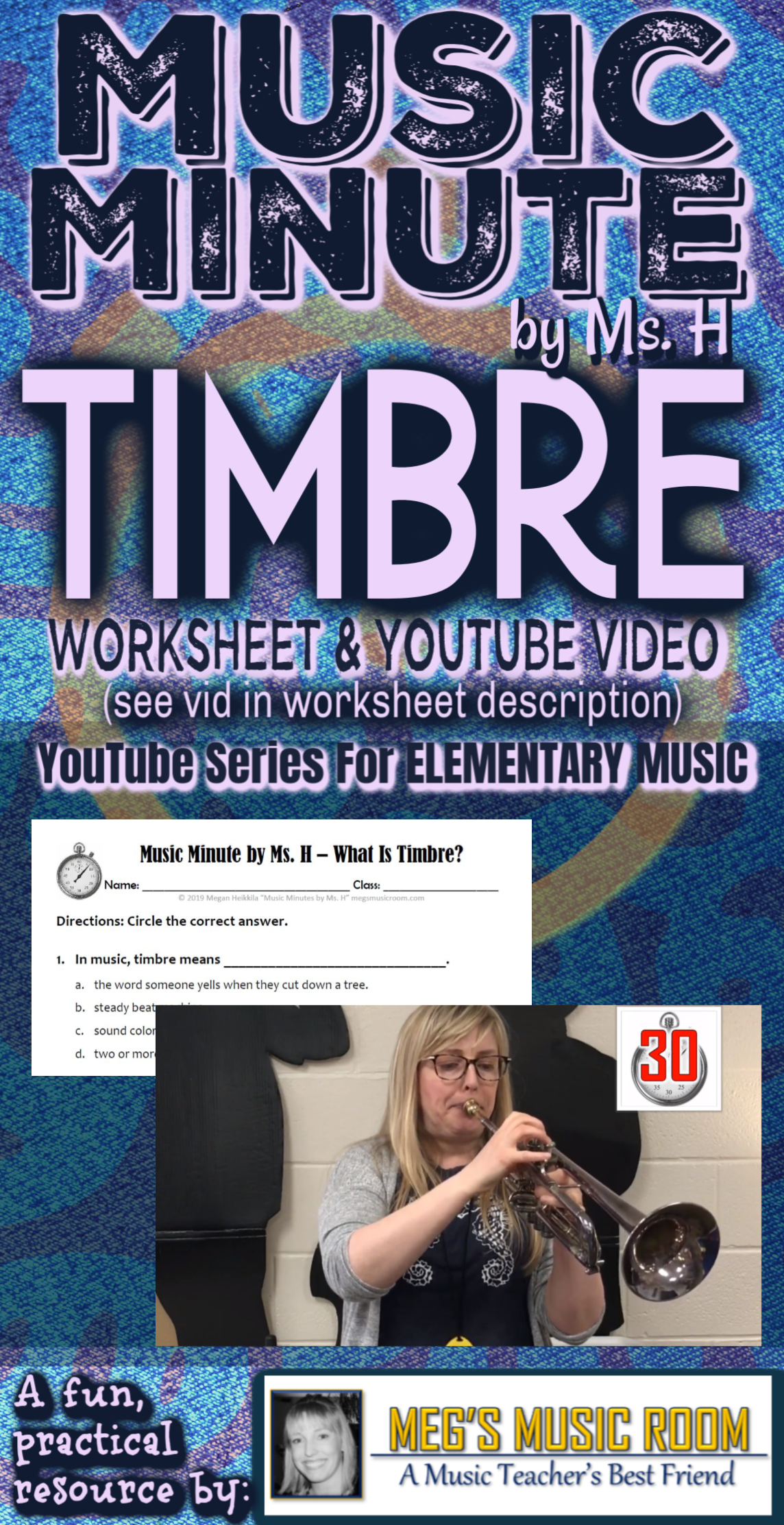 What Is Timbre Music Minute By Ms H