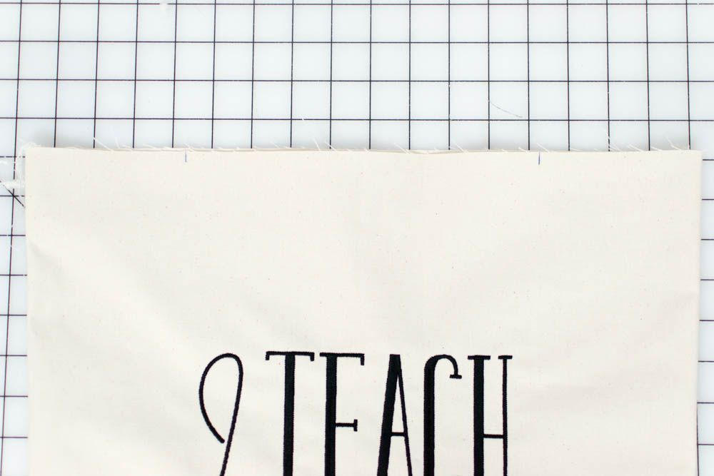 Teacher Tote Bags to Sew in a Flash! {free sewing pattern