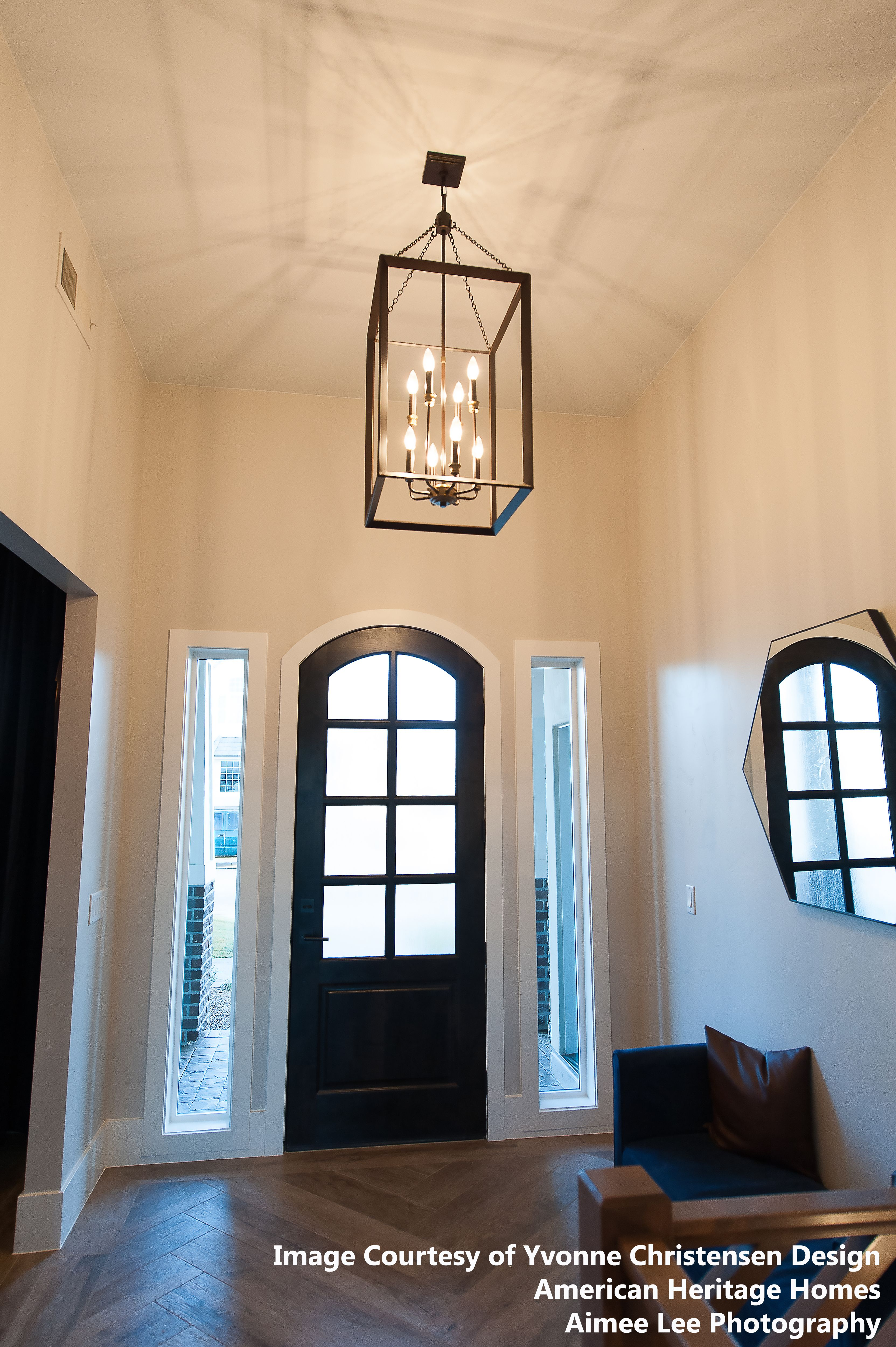The Brook Hall Collection Is Simplistic In Design But Accented Impeccably The Western Bron Large Foyer Chandeliers Foyer Decorating Entryway Chandelier Foyers