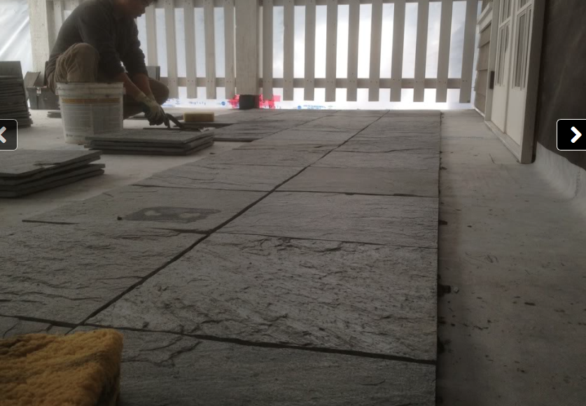 Waterproofing Decks Over Living Areas : No curb or dam shower s featuring barrier free