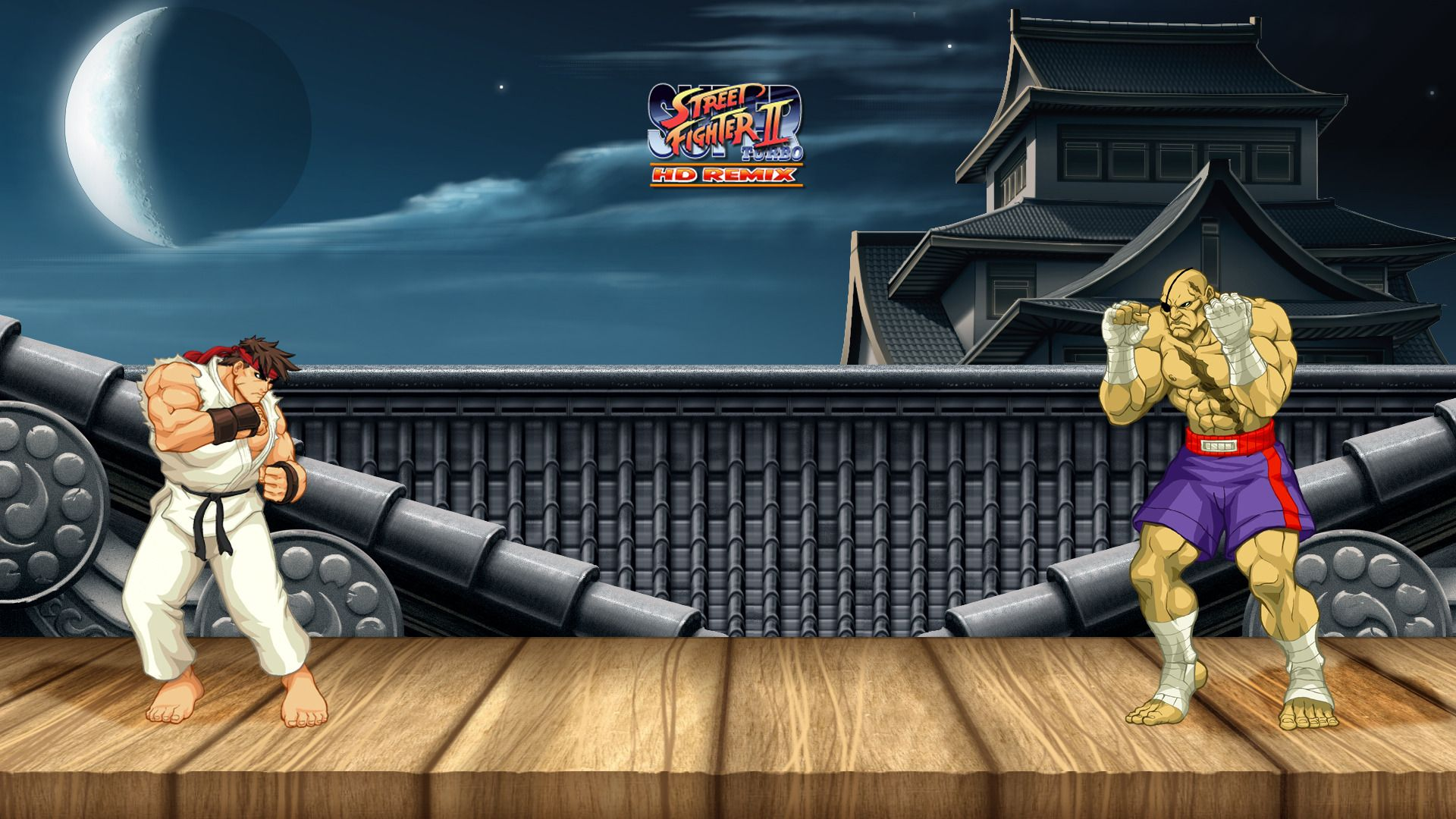 Ryu Vs Sagat Street Fighter Ii Wallpaper Wallpaper Sagat