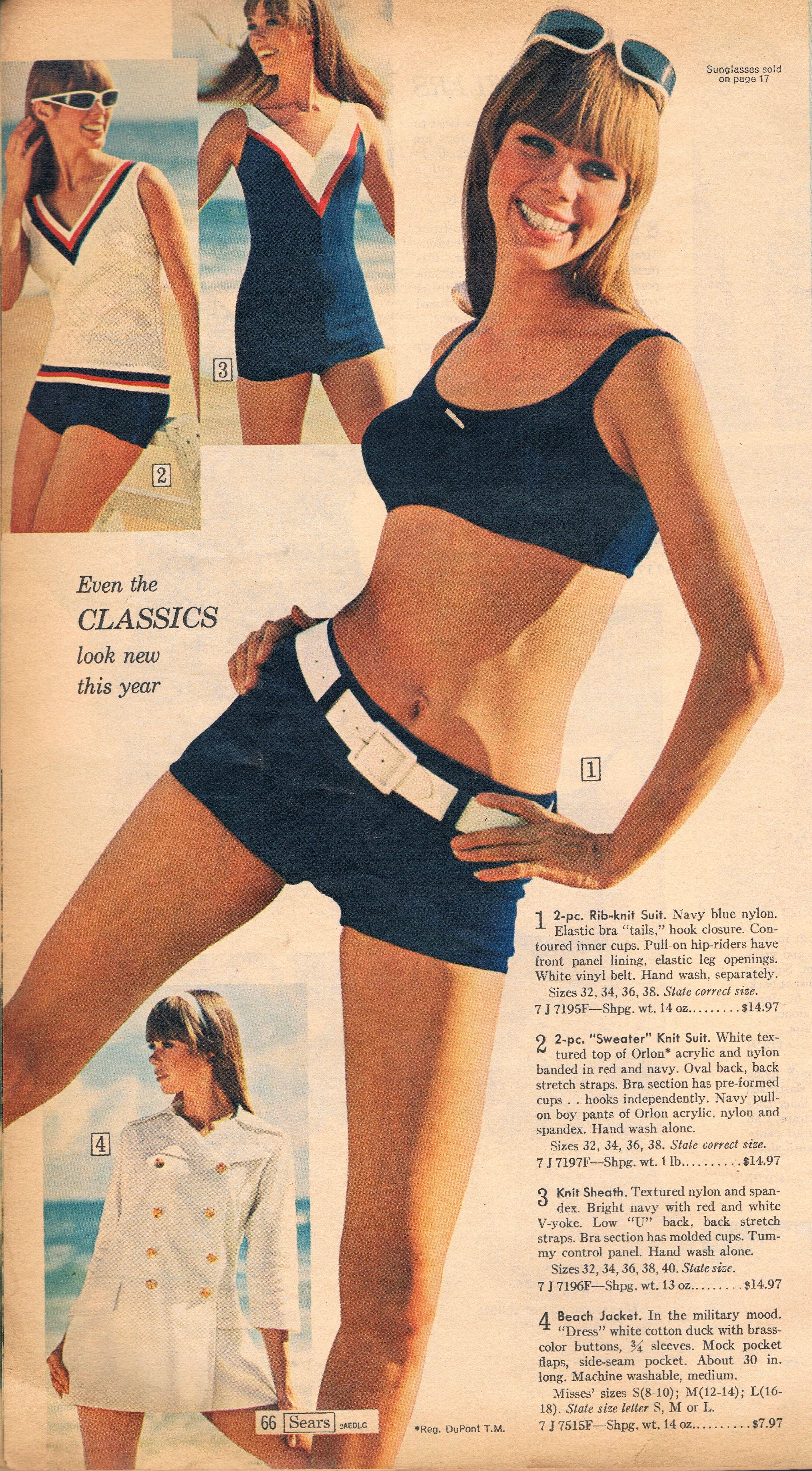 d024560dee9d4 Sears 1967 Style Année 60