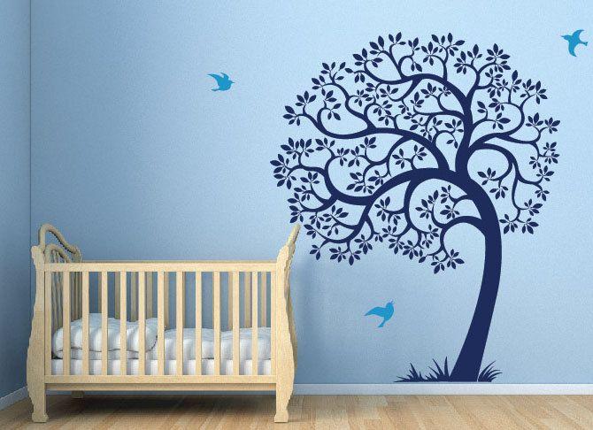Nursery Wall Decals Rhyme : Neutral Gender Nursery Wall Decals ...