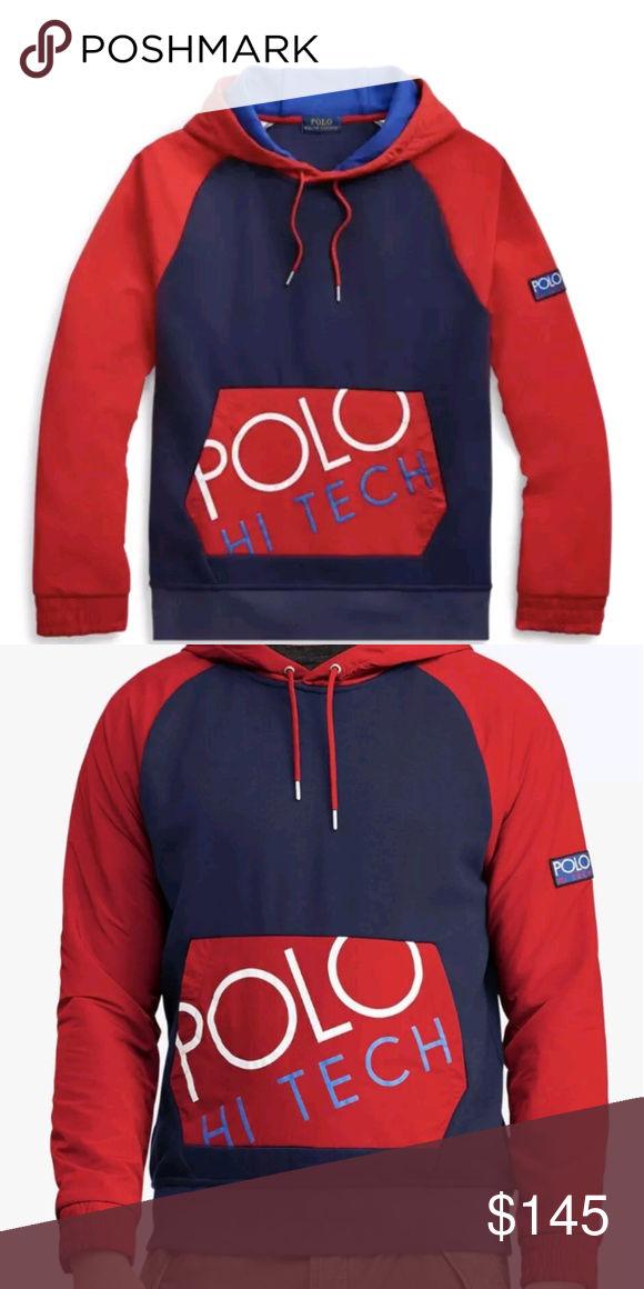 78078329e Ralph Lauren Polo Hi-Tech Hoodie NWT. Fits roomy for an L. Polo by Ralph  Lauren Jackets & Coats Ski & Snowboard