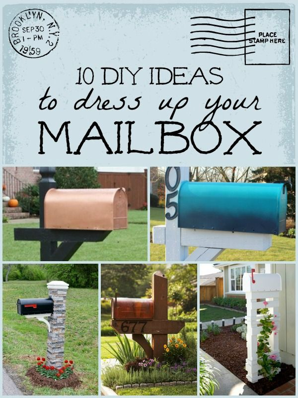 mailbox ideas on pinterest