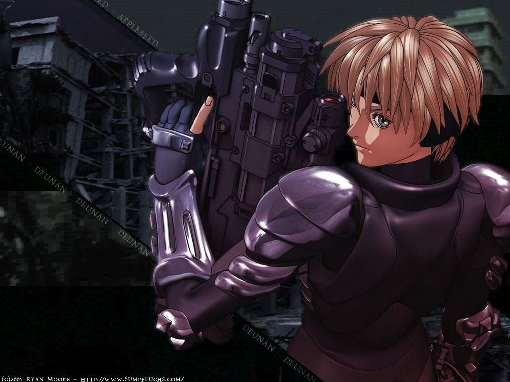 Appleseed Wallpaper #6 (Anime Wallpapers.com)