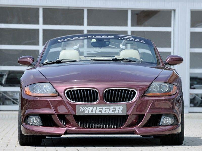 Rieger Front Bumper For Bmw Z4 E85 Pre Facelift