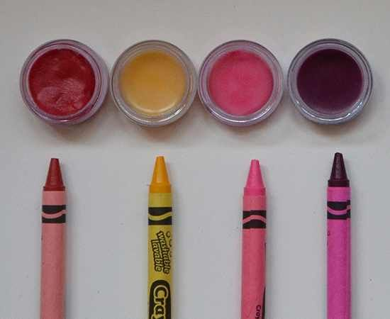 How to make lip gloss with vaseline and crayons