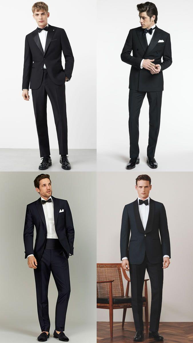 68933daf3b Men s Black Tie Dinner Jacket Tuxedo Summer Wedding Guest Outfit Inspiration