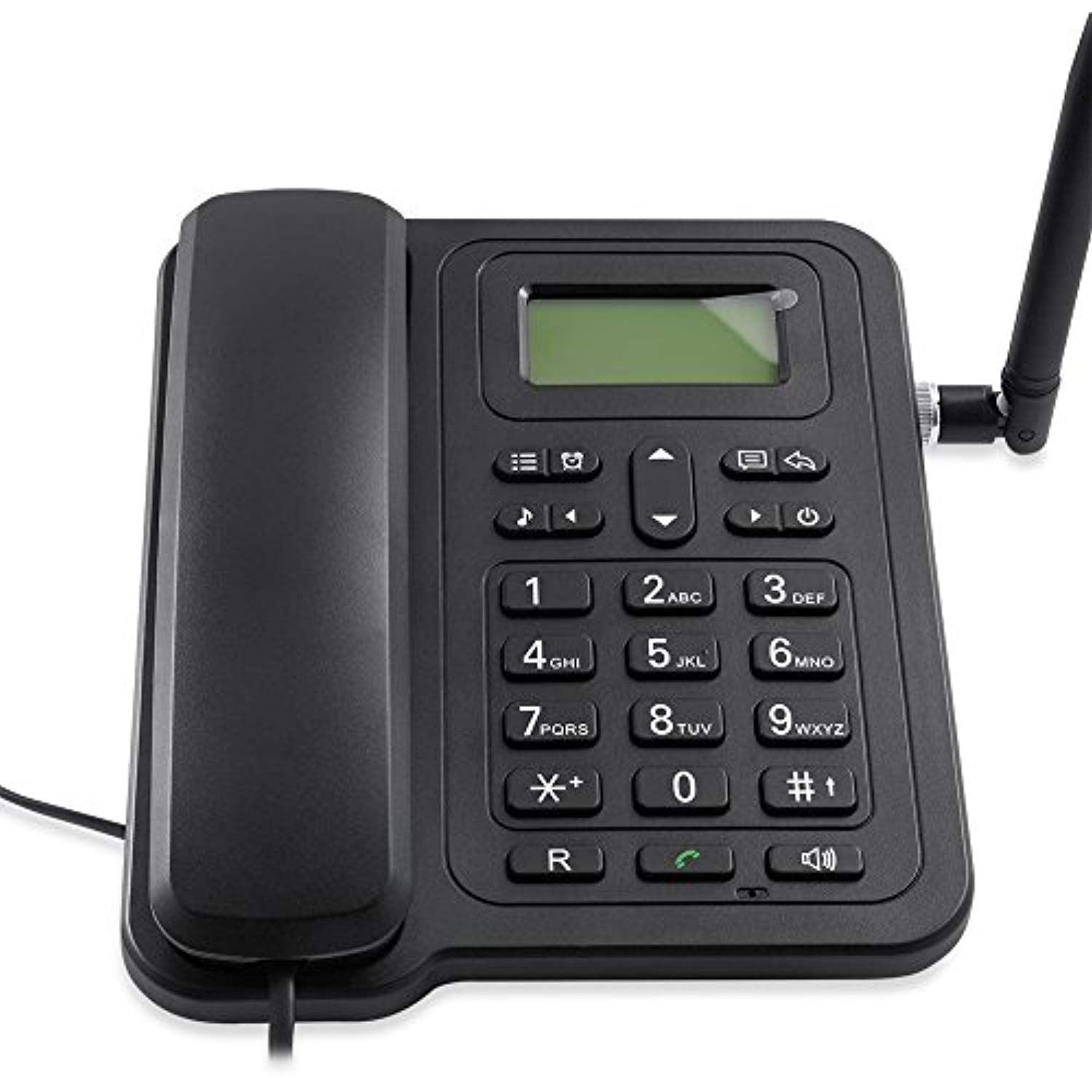 Gsm wireless telephone desktop fixed phone for home and