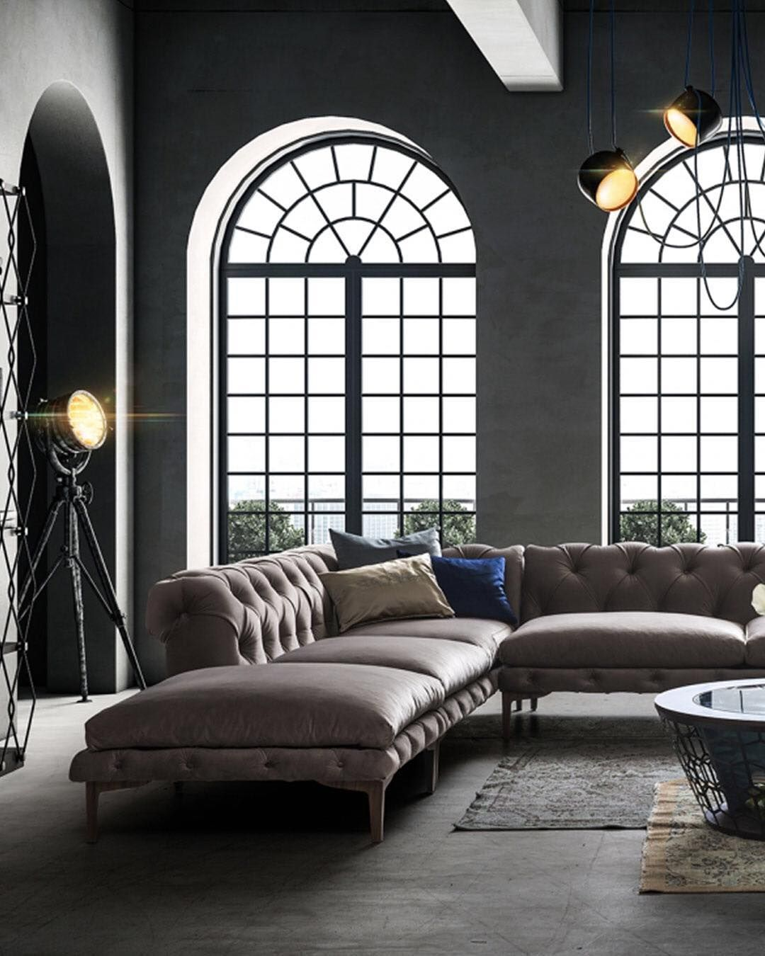 Saloni Intelligent Furniture On Instagram The Porto Sectional Radiates Old Style Luxury Living Room Design Inspiration Living Room Style Living Room Designs